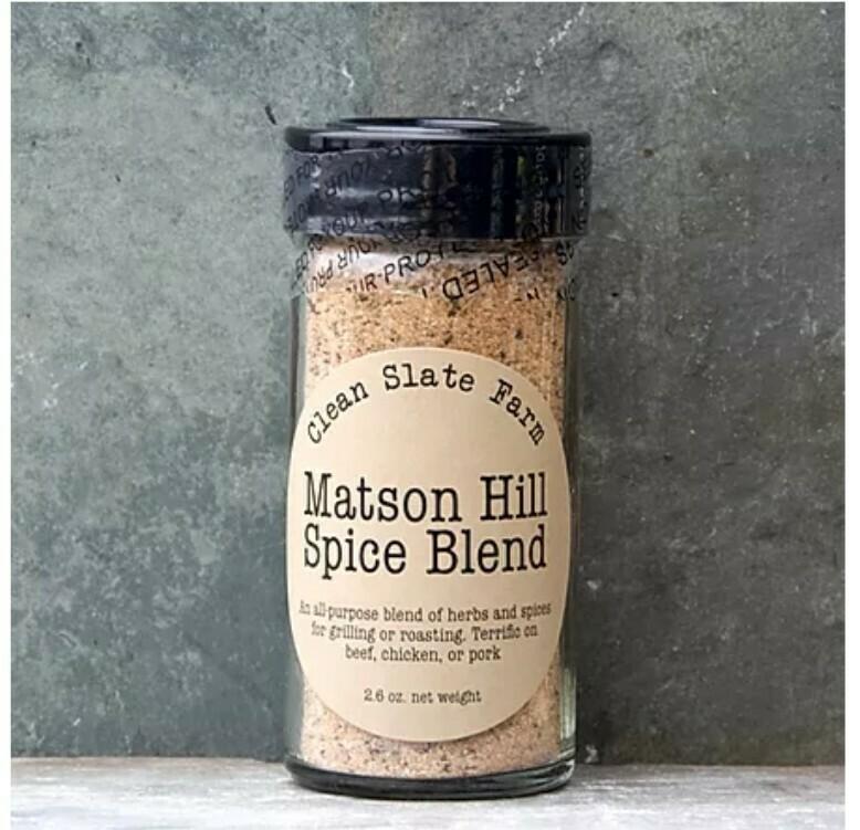 Matson Hill Spice Rub - Clean Slate Farm - Tully, NY