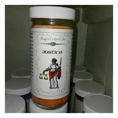 Justice Magrat Spell Jar