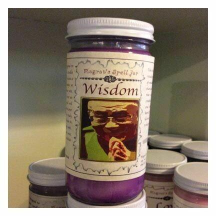 Wisdom Magrat Spell Jar
