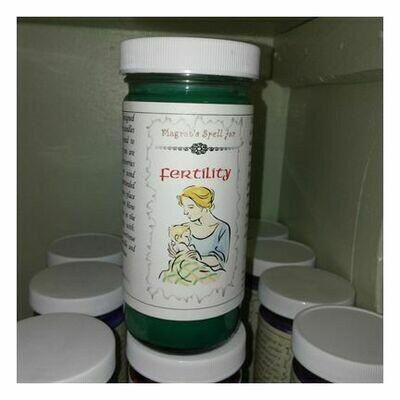 Fertility Magrat Spell Jar