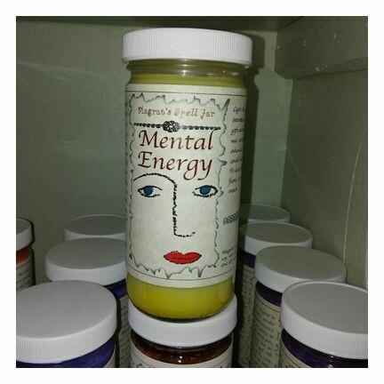 Mental Energy Magrat Spell Jar