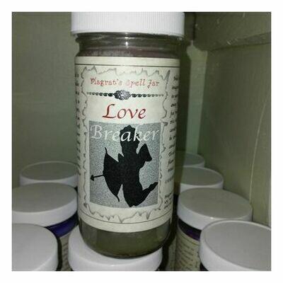 Love Breaker Magrat Spell Jar