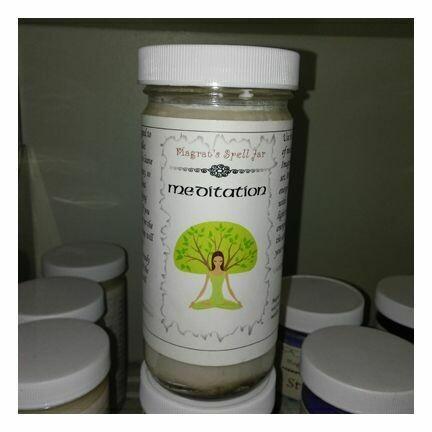 Meditation Magrat Spell Jar