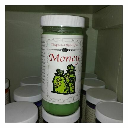 Money Magrat Spell Jar