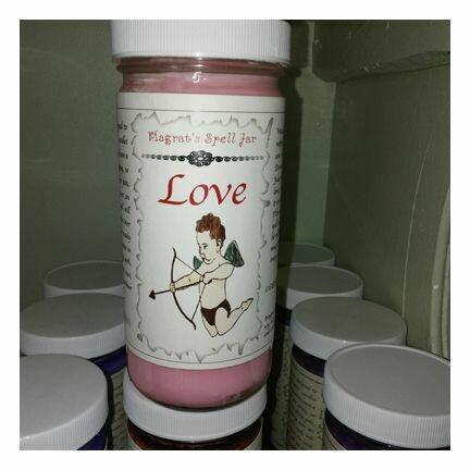 Love Magrat Spell Jar