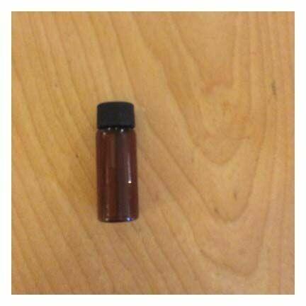 Bottle Amber, 2 Dram