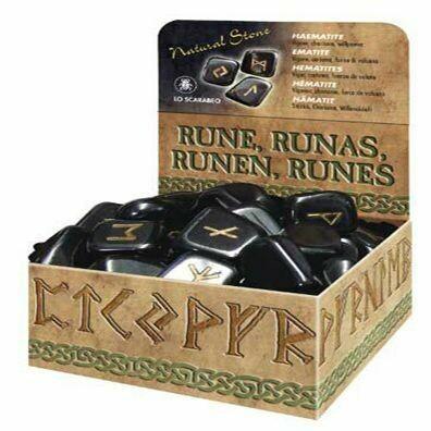 Rune Hematite Set
