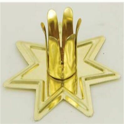Candle Holder Gold Fairy Star Chime
