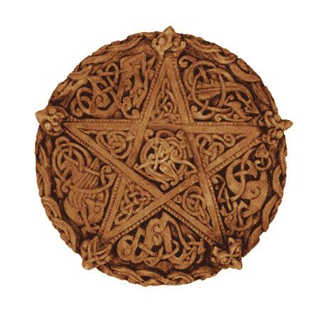 Celtic Knotwork Pentacle Plaque