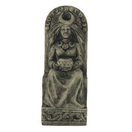 Seated Goddess Statuary, Stone