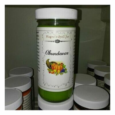 Abundance Magrat Spell Jar