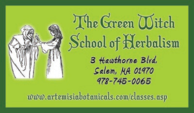 The Green Witch School of Herbalism 2021