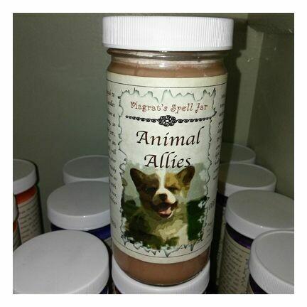 Animal Allies Magrat Spell Jar Retail