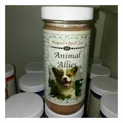 Animal Allies Magrat Spell Jar