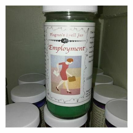 Employment Magrat Spell Jar