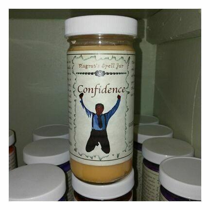 Confidence Magrat Spell Jar