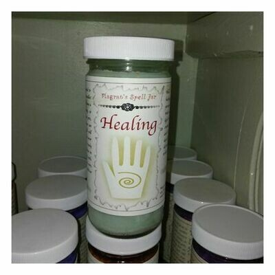 Healing  Magrat Spell Jar