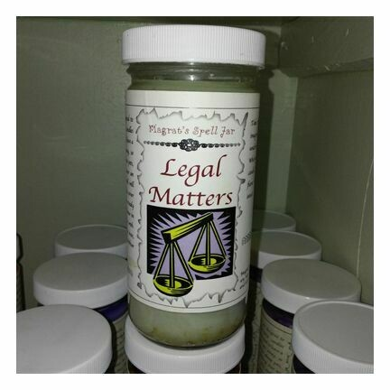 Legal Matters Magrat Spell Jar