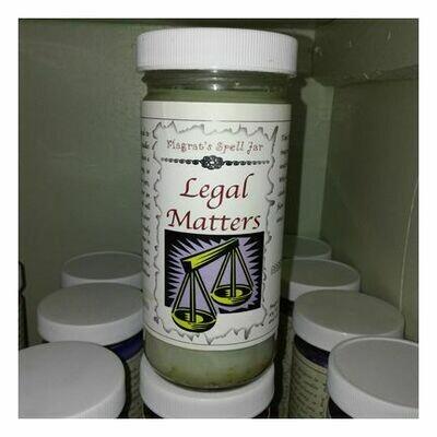 Legal Matters Magrat Spell Jar