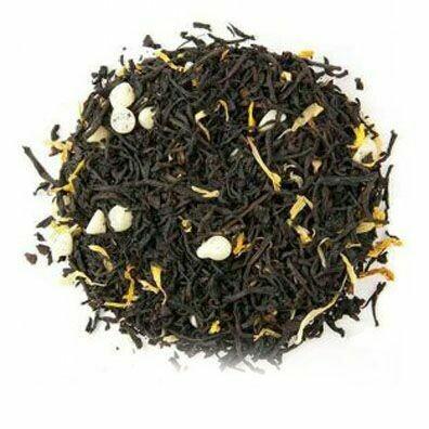 Black Tea White Chocolate Mousse