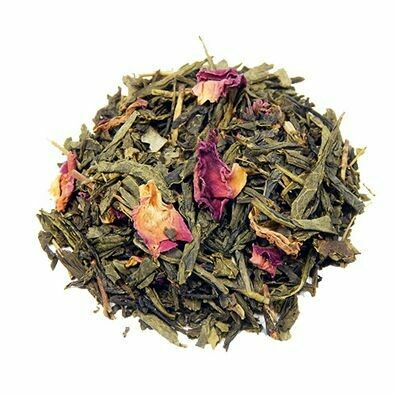 Green Tea Sencha Kyoto Cherry Rose