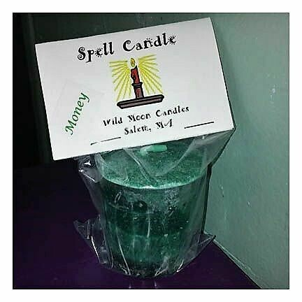 Candle Spell Money Candle Votive