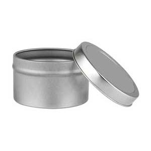 Tin Cylinder 4 oz. Deep