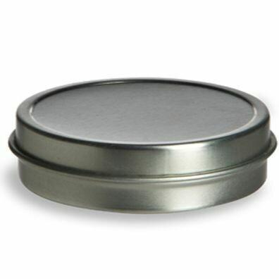 Tin 1 oz. Flat
