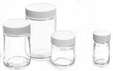 Jar Glass, 8 oz.