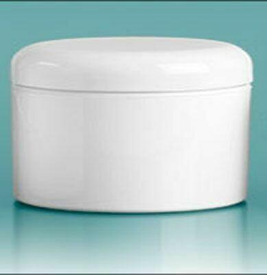 Jar White 8 Plastic