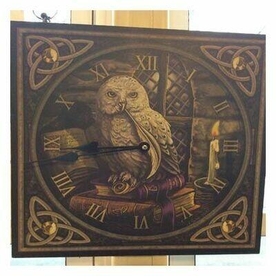 Clock, Flying Owl