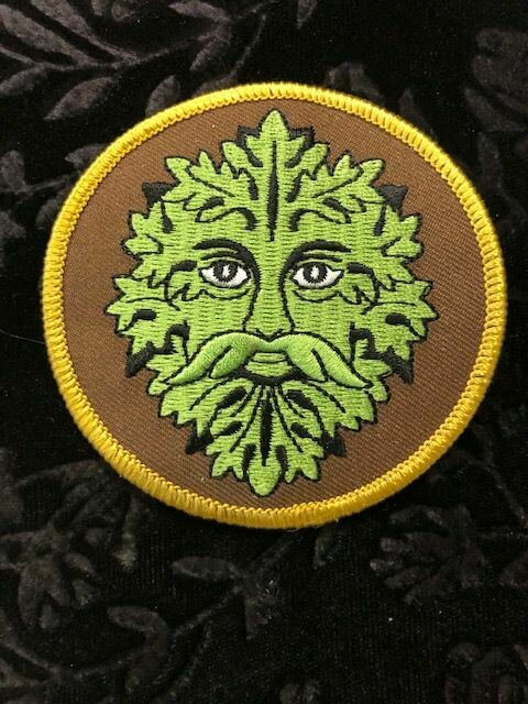 Patches, Wiccan, Green Man