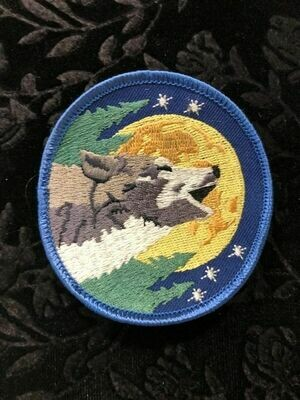 Patch Wiccan Wolf