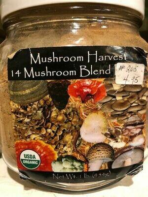 14 Mushroom Blend