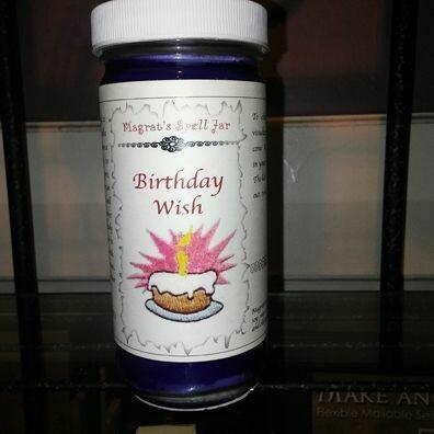 Birthday Wish Magrat Spell Jar