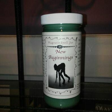 New Beginnings Magrat Spell Jar