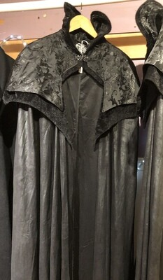 Cape Gothic Vampire High Collar
