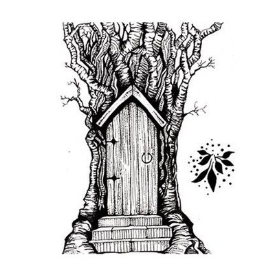 Stamp-Fairy Door