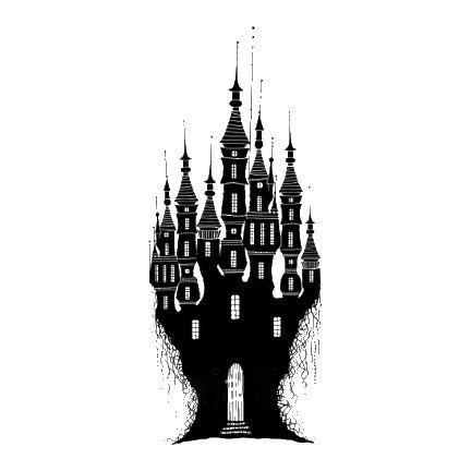 Stamp-Dragon Stone Castle