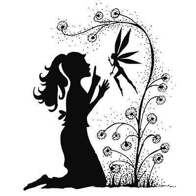 Stamp-Fairy Wish  LAV034