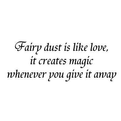 Stamp Fairy Dust is like Love