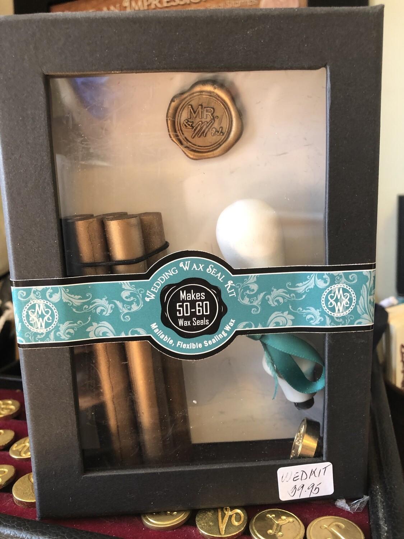 Wedding Kit Sealing Wax and Stamp