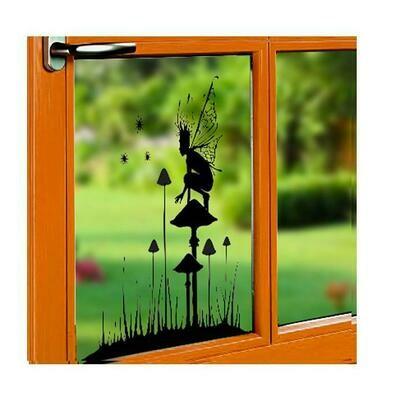 Window Cling-Fairy Watch WCD001