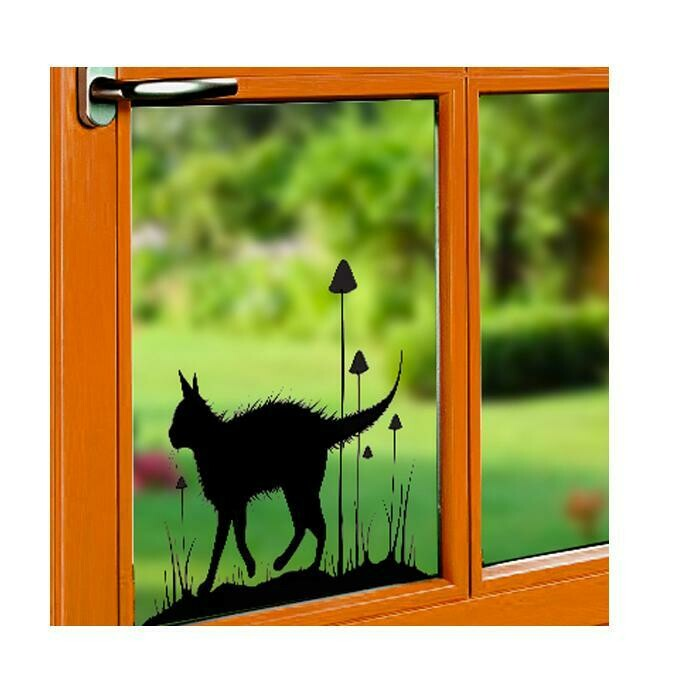 Window Cling-Garden Stroll