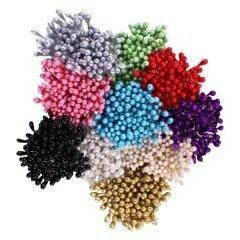 Assorted Pearl Stamens - Small