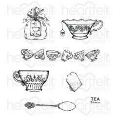 Stamp Set - My Cup of Tea Cling