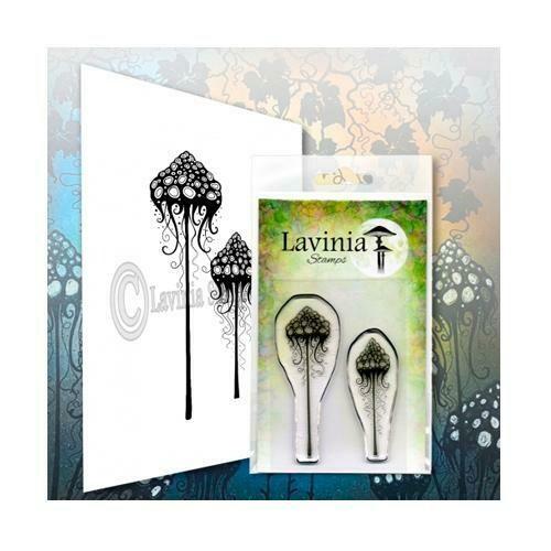 Stamp-Mushroom Lantern Set
