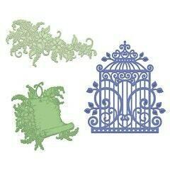 Die - Sweet Lilac Scroll & Cage