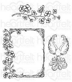 Stamp Set - Flowering Dogwood Cling