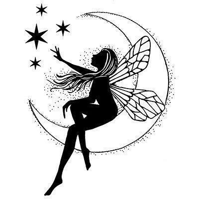 Stamp Moon Fairy